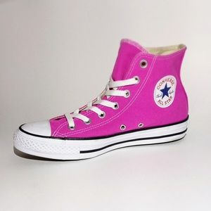 New CONVERSE Magenta Pink ALL STAR Sneakers